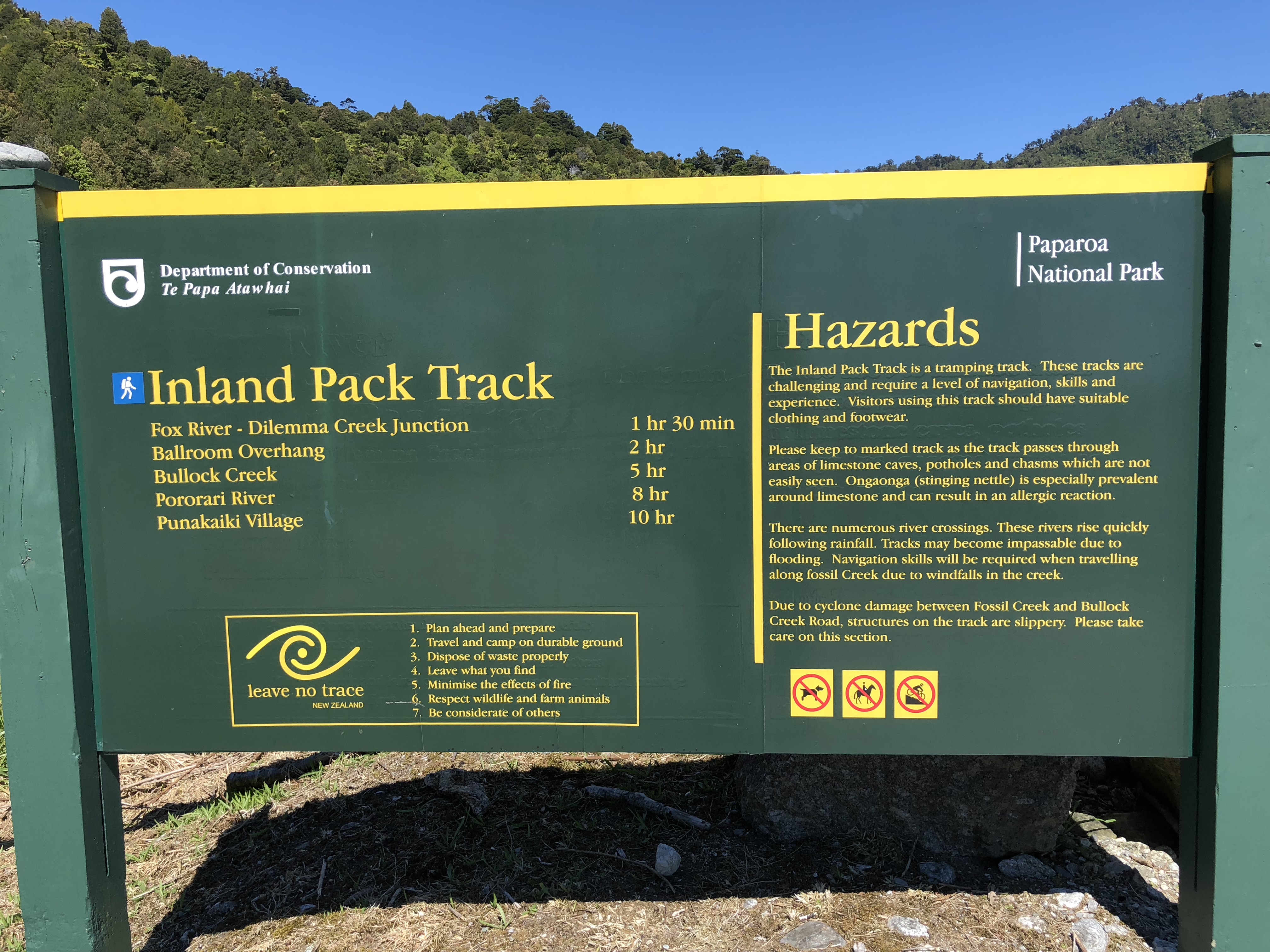 Inland Pack Track